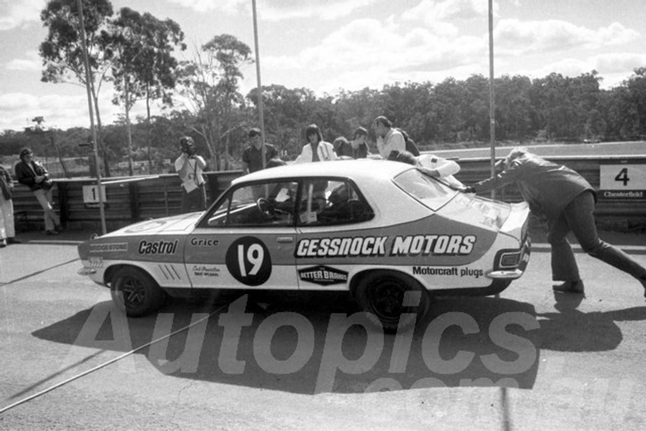 73289 - Allan Grice, Torana XU1 - Amaroo 1973  - Photographer Lance Ruting