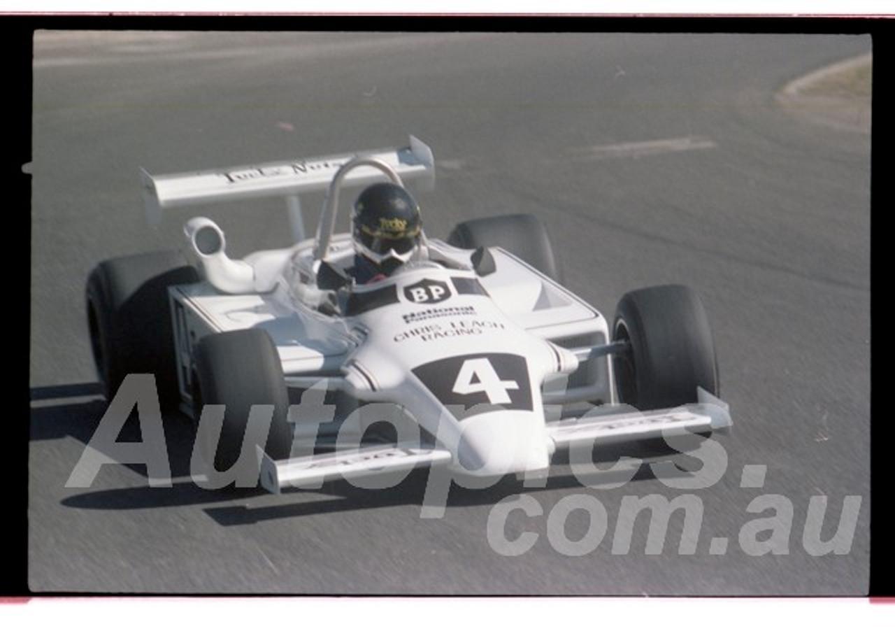 John Bowe, Ralt RT1 - Oran Park  23rd August 1981 - Photographer Lance Ruting