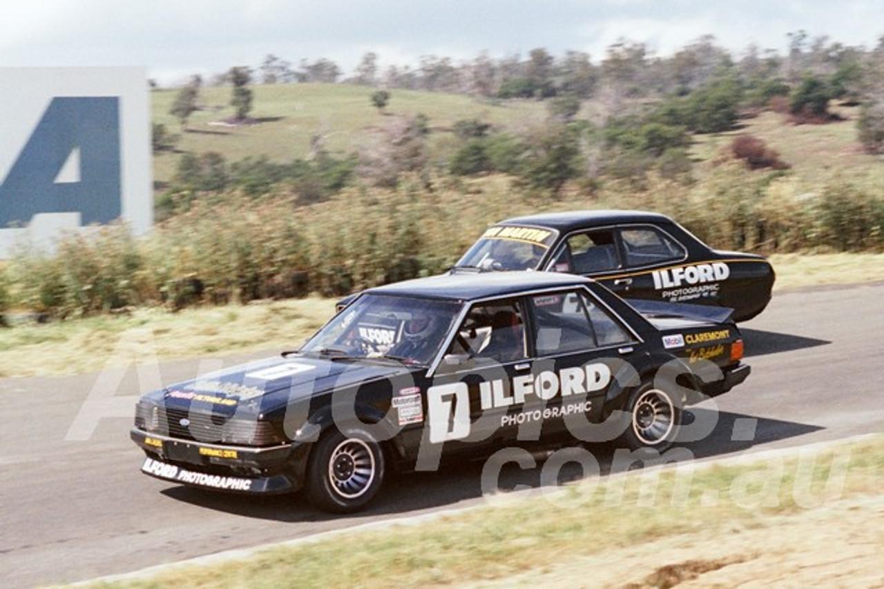 83116 - Adrian Martin, Falcon & Ian Martin, Escort - Baskerville 27th November 1983 - Photographer Keith Midgley