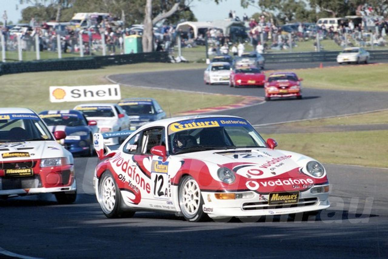 99020 - Geoffrey Morgan, Porsche 911 RSCS - Sandown 27th June 1999 - Photographer Marshall Cass