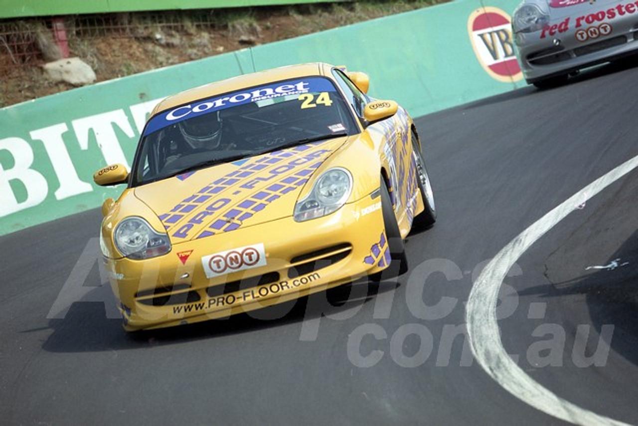 202818 - Paul Blackie - Porsche 996 GT3 - Bathurst 13th October 2002 - Photographer Marshall Cass