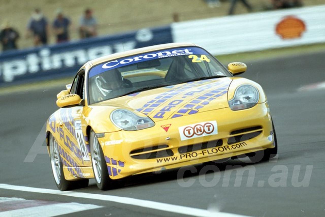 202819 - Paul Blackie - Porsche 996 GT3 - Bathurst 13th October 2002 - Photographer Marshall Cass
