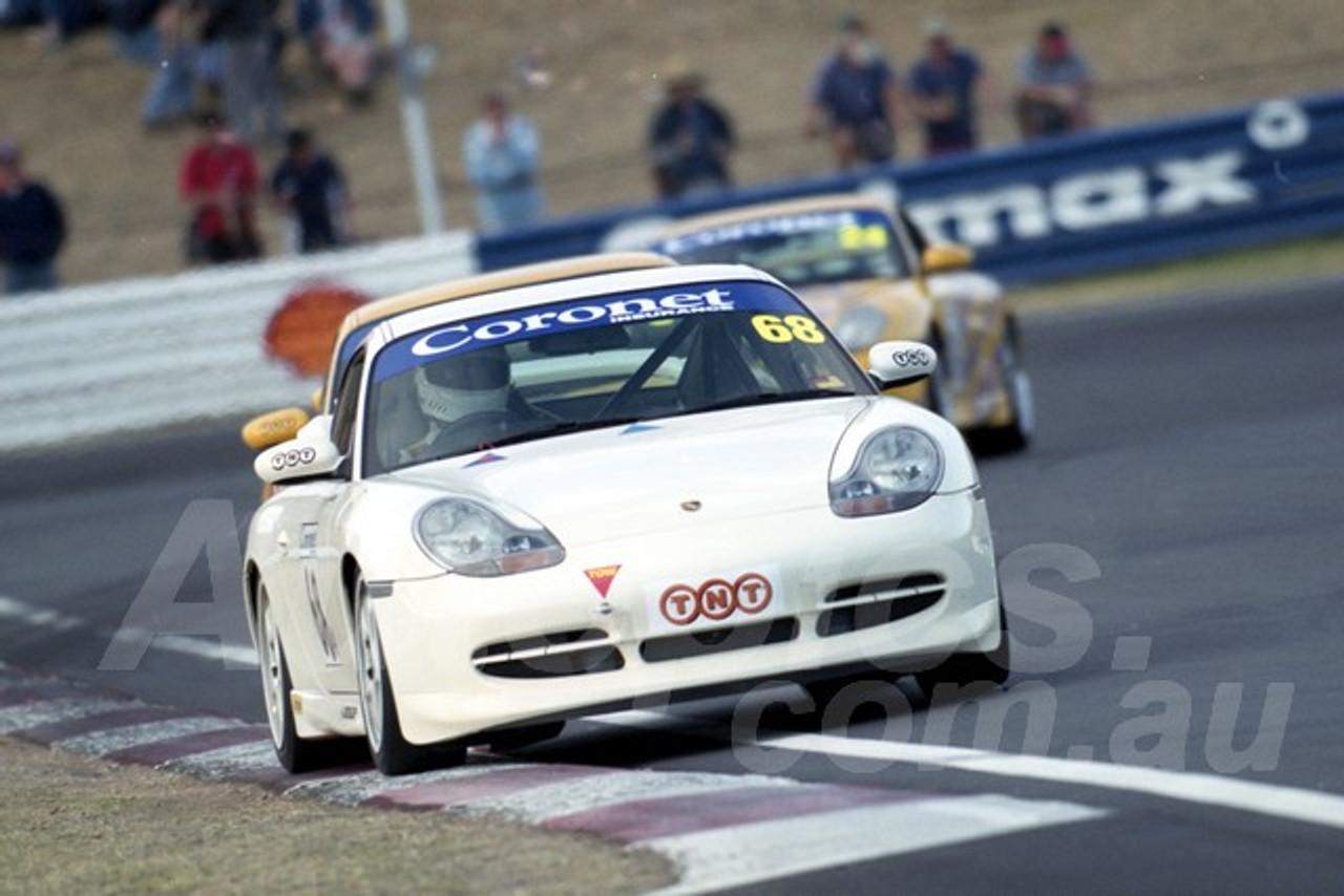 202855 -  Kim Burke - Porsche 996 GT3  - Bathurst 13th October 2002 - Photographer Marshall Cass