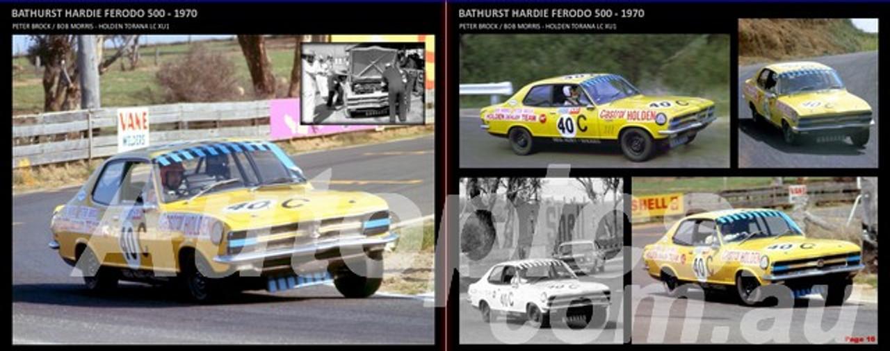 Holden LC & LJ TORANA XU1, Bathurst 500/1000 1970 TO 1975
