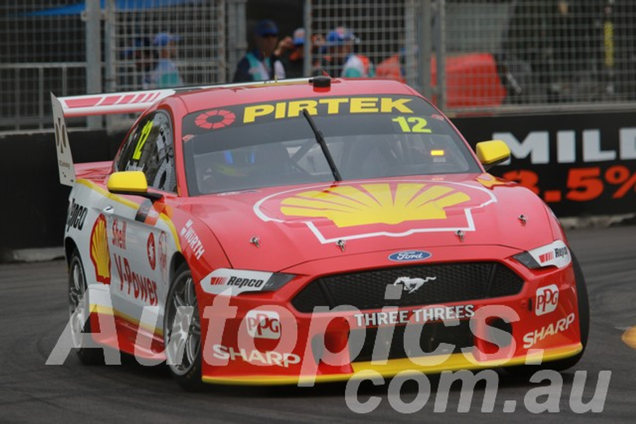 19013 - Fabian Coulthard, Ford Mustang GT - Newcastle 2019