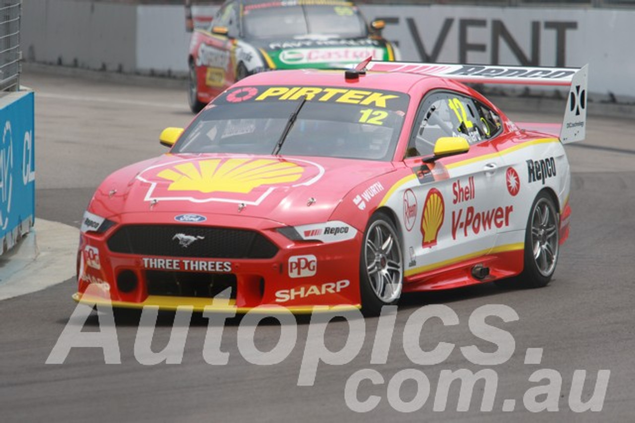 19015 - Fabian Coulthard, Ford Mustang GT - Winton 2019
