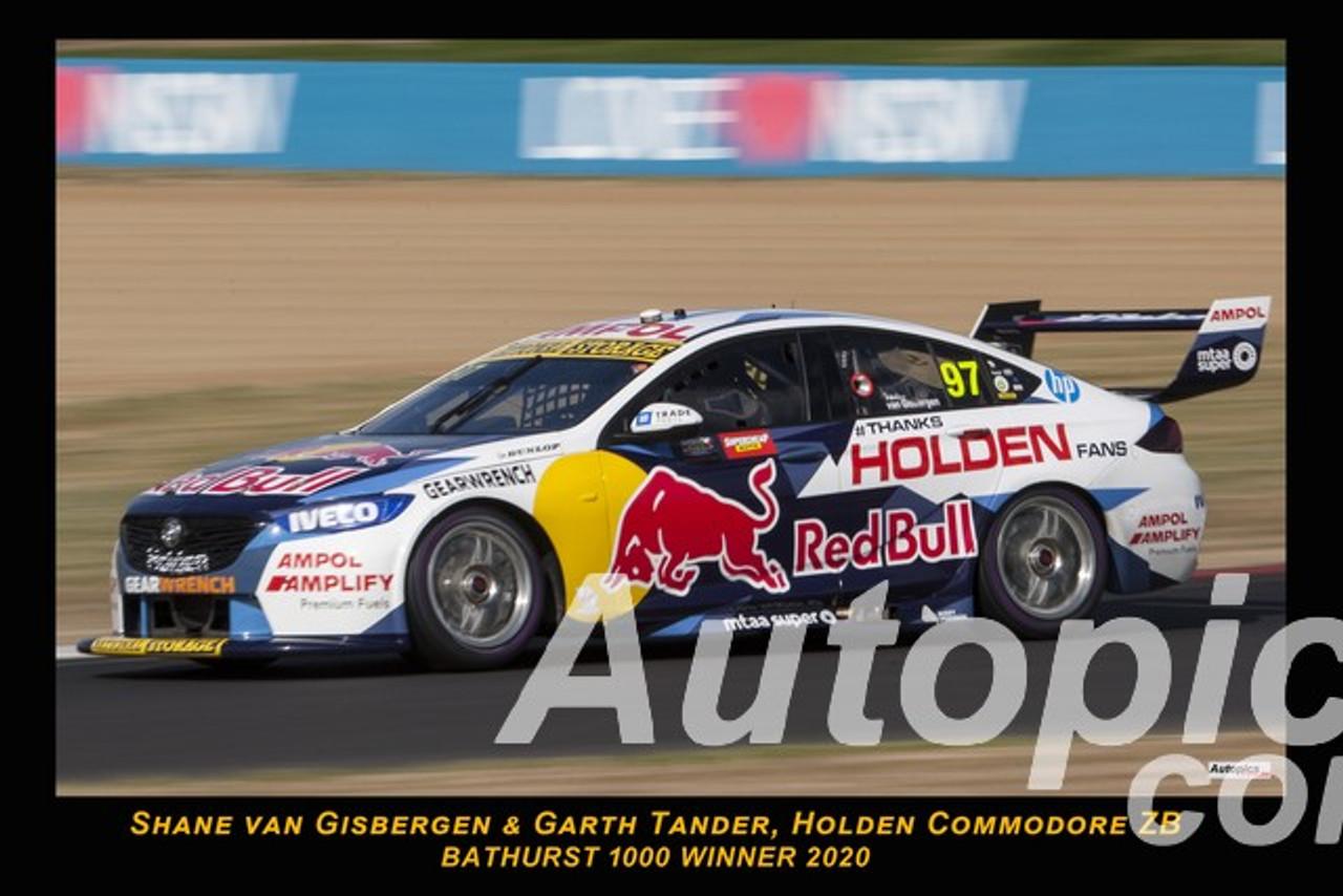 20701 - Shane van Gisbergen & Garth Tander, Holden Commodore ZB - Winner Bathurst 1000 2020