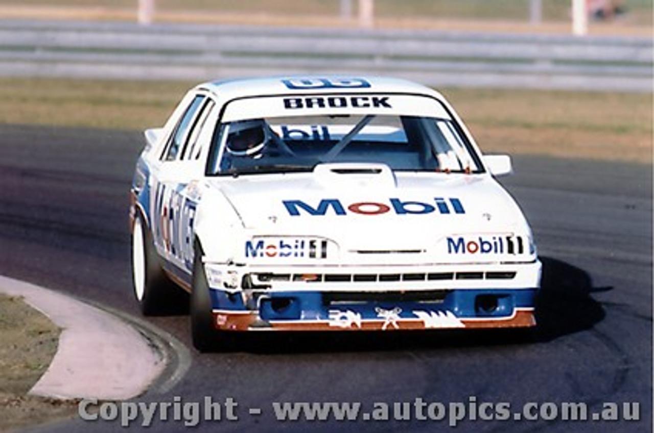 87013  -   Peter Brock Commodore VL - Sandown 1987