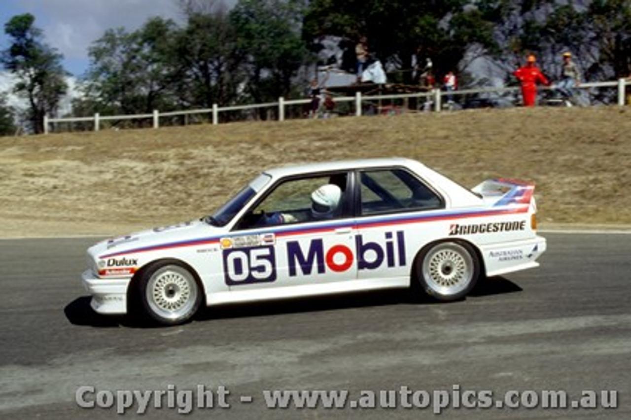 88012 - P. Brock BMW M3 - Symmons Plains 1988