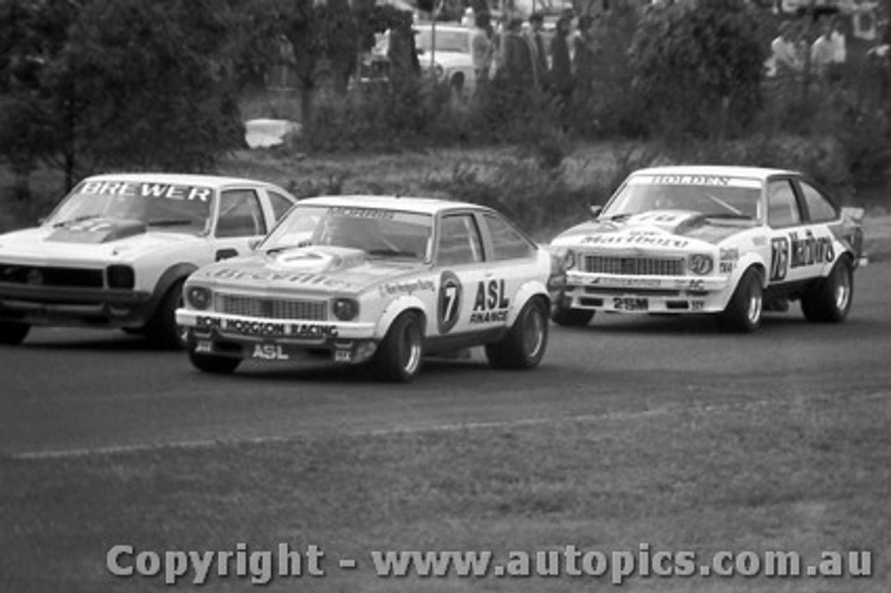 79023 - B. Morris / J. Harvey / B. Brewer - Holden A9X - Sandown  1979 - Photographer Darren House