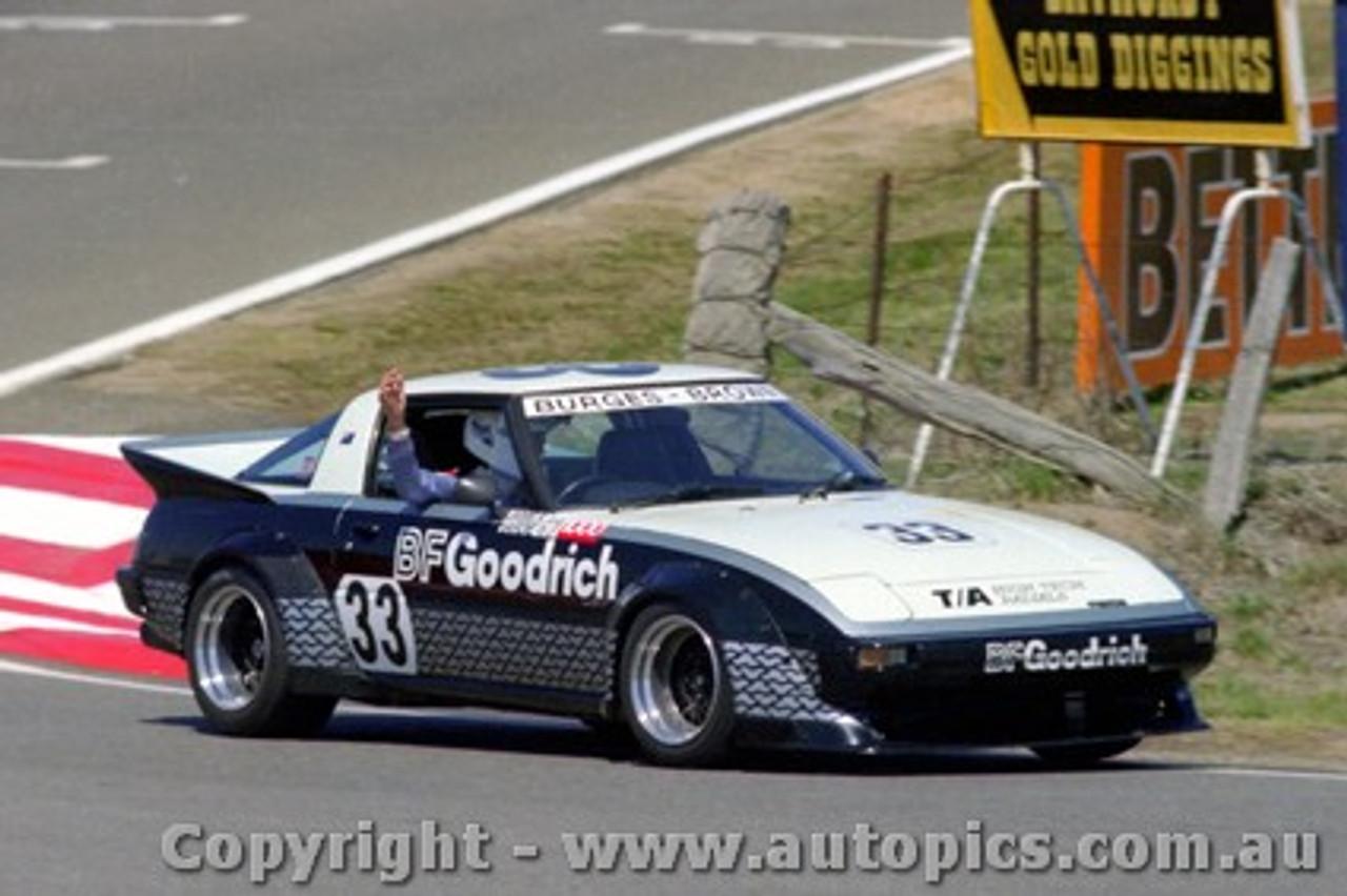 82738  - G. Burgess / L. Brown  -  Bathurst 1982 - Mazda RX7