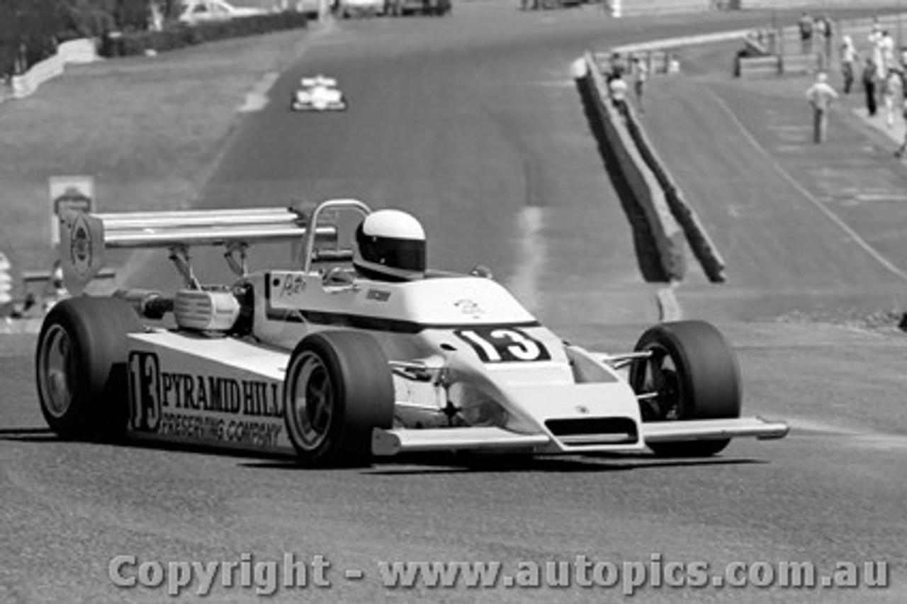 84503 - Peter Glover Cheetah MKV11 - Sandown 19th February 1984