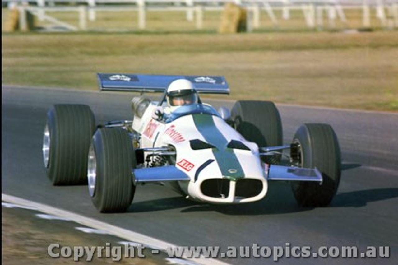 70575 - Leo Geoghegan  Lotus 59B Waggott T/C - Winner of the Sam Horden Trophy - Warwick Farm  6th September 1970