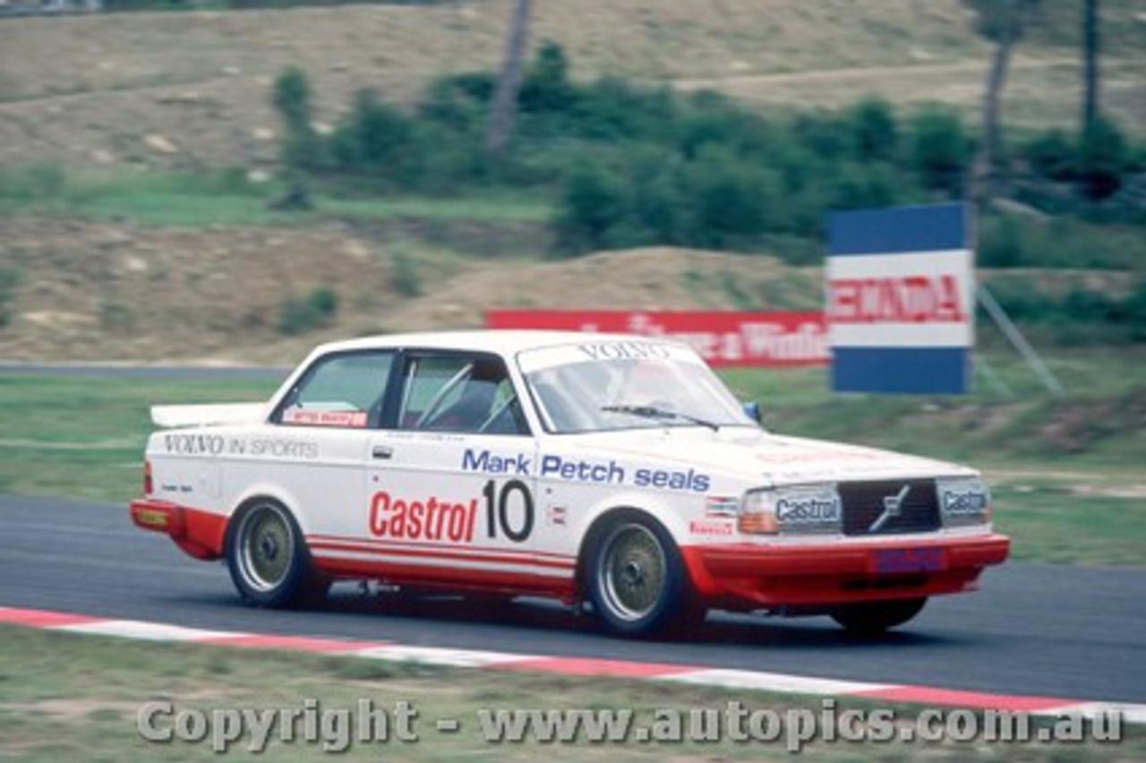 86016 - Robbie Francevic  Volvo 240 Turbo  - Amaroo 1986
