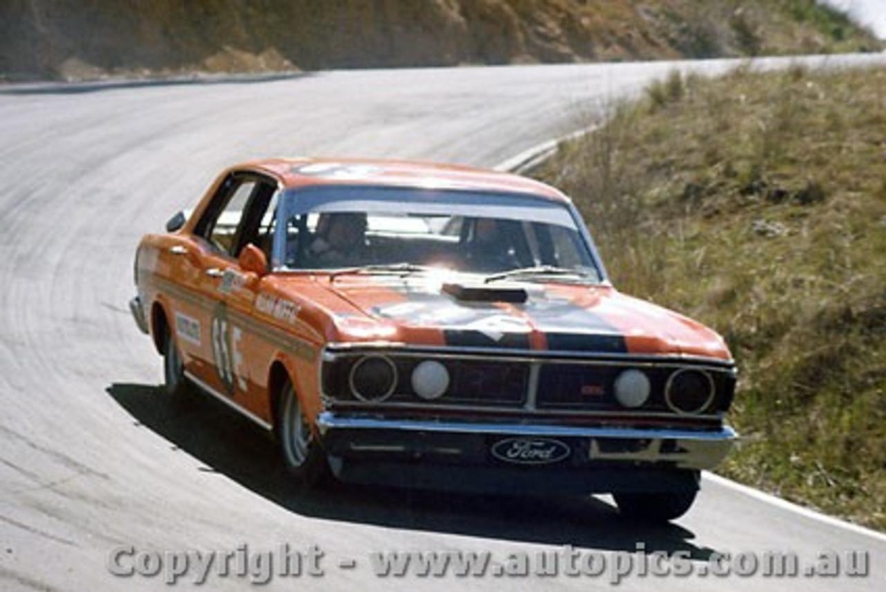 71808  -  Allan Moffat  -  Bathurst 1971 -1st Outright & Class E winner - Ford Falcon XY GTHO Phase 3 - Photographer Bruce Blakey