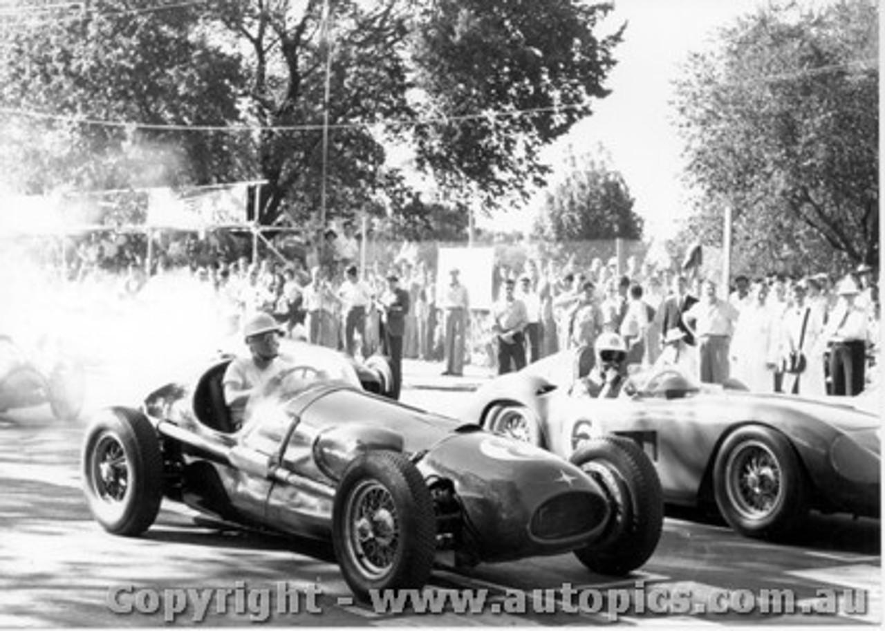 58539 - Stan Jones Maserati 250F - Albert Park 1958 - Photographer Peter D Abbs