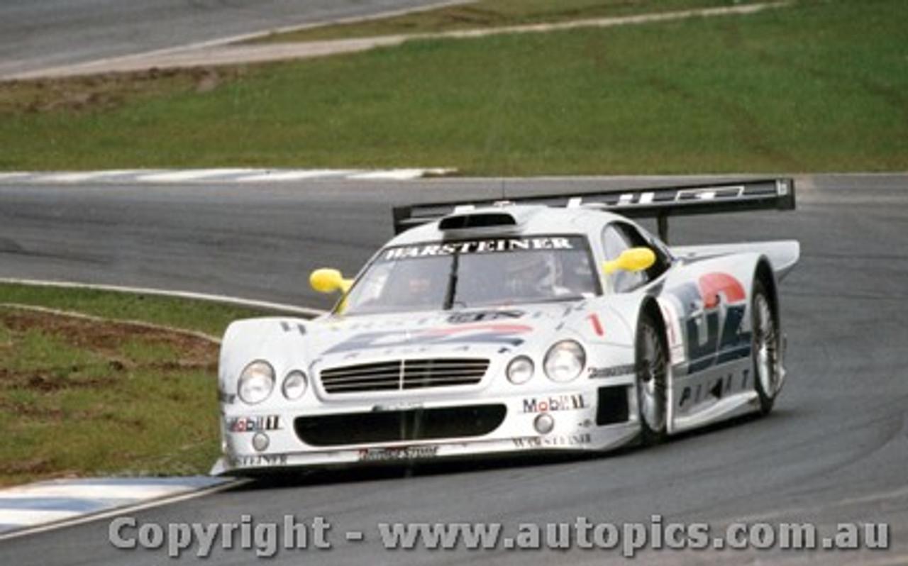 98402 - Mark Webber Mercedes Benz CLR - Oscherleben 1998 - Photographer M. Jordon