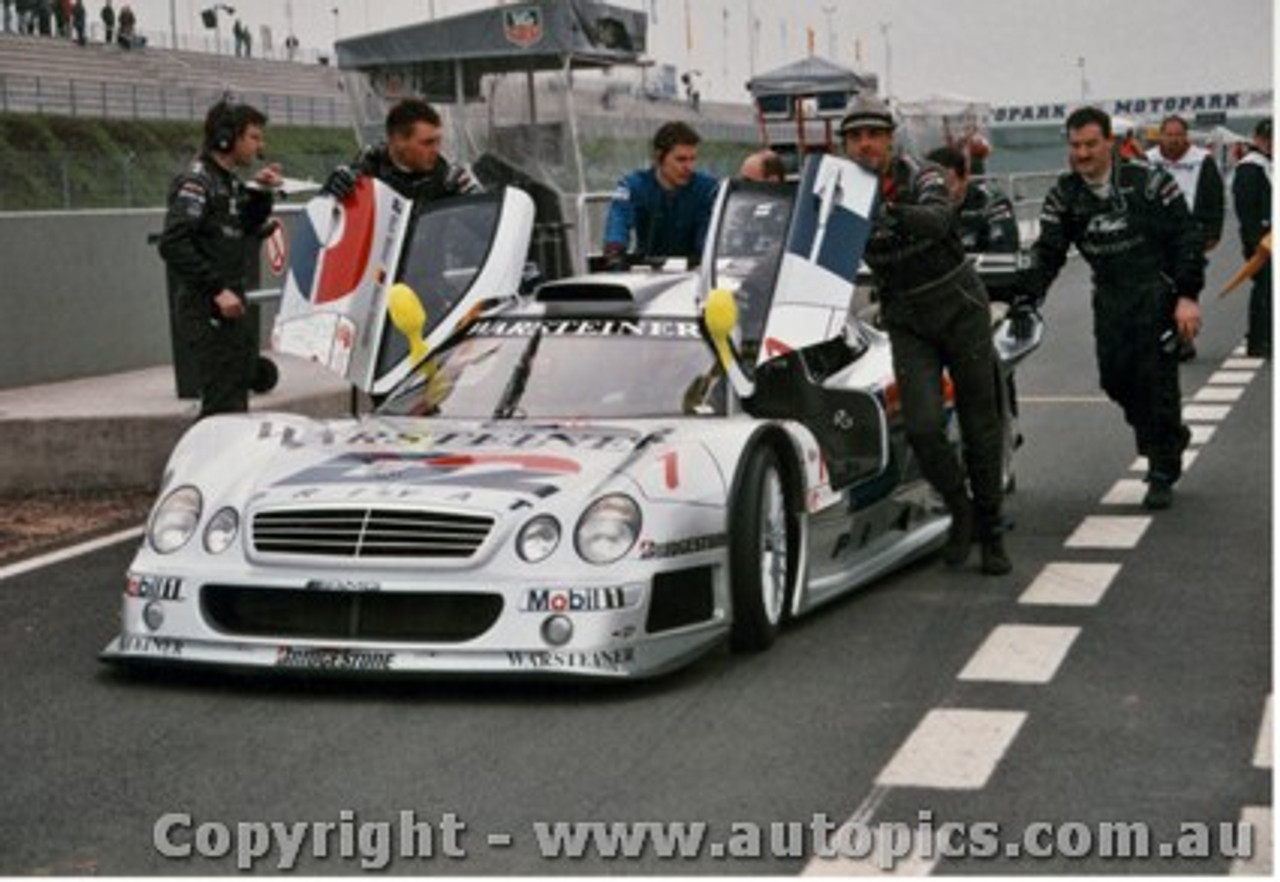 98403 - Mark Webber Mercedes Benz CLR - Oscherleben 1998 - Photographer M. Jordon