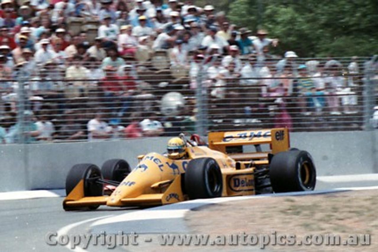 87507 - Ayton Senna Lotus 99T - AGP Adelaide 1987 - Photographer Darren House