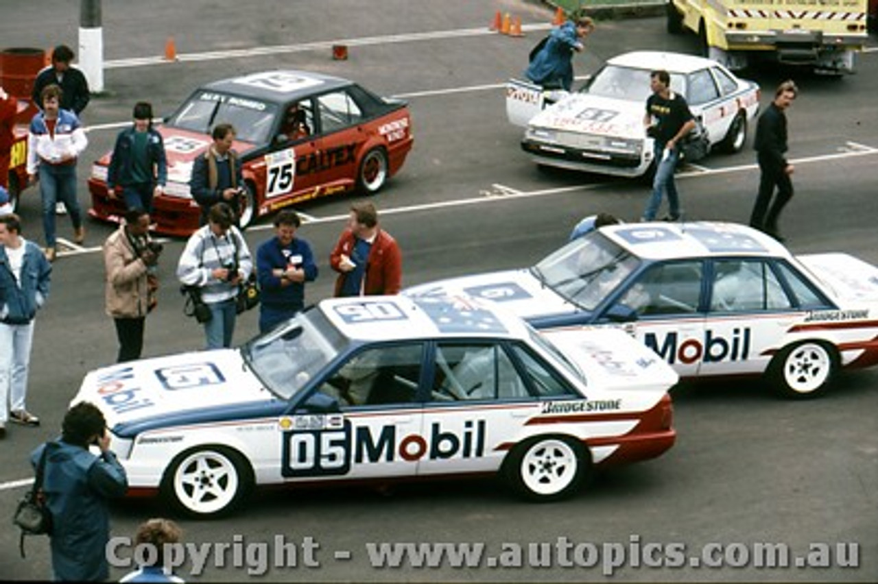 85027  - Peter Brock & John Harvey  -  Holden Commodore VK  1987