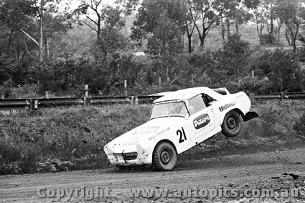 72970 - Dale Thompson - Catalina Rallycross 27th February 1972 - Catalina Park Katoomba - Photographer Lance J Ruting