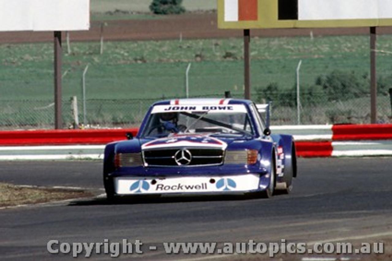81037 - John Bowe - Mercedes Benz - Calder 1981 - Photographer Peter D Abbs