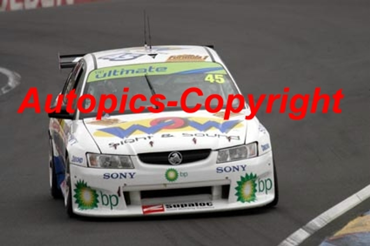205719 - M. Porter / K. Scott - Holden Commodore VZ - Bathurst 2005 - Photographer Jeremy Braithwaite