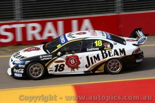 10011 - James Courtneyn Ford Falcon FG - Clipsal 500 Adelaide  2010 - Photographer Craig Clifford