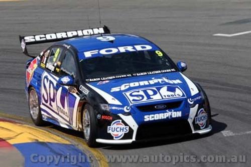 10012 - Shane Van Gisbergen  Ford Falcon FG - Clipsal 500 Adelaide  2010 - Photographer Craig Clifford