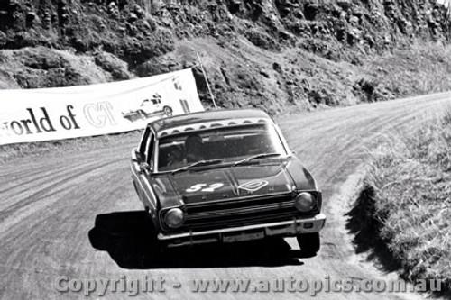 67756  - H. Firth / F. Gibson  -  Bathurst 1967 - 1st Outright & Class D Winner - Ford Falcon XR GT - Photographer Lance J Ruting