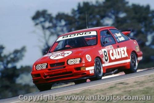 92738  - Colin Bond / John Smith - Ford Sierra RS500  -  Bathurst 1992 - Photographer Ray Simpson