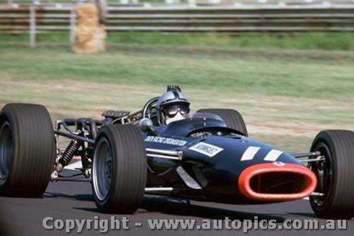 68598 - Pedro Rodriguez - BRM V12 - Tasman Series  Sandown - 1968 - Photographer David Blanch