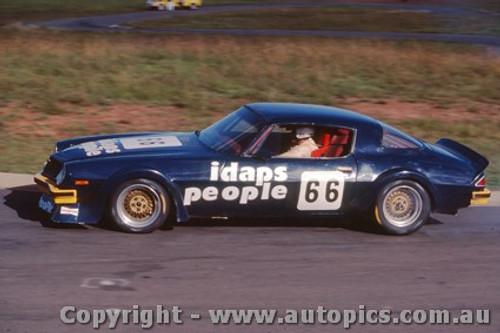 83024 - Kevin Bartlett Chev Camaro Oran Park  1983 - Photographer Lance J Ruting