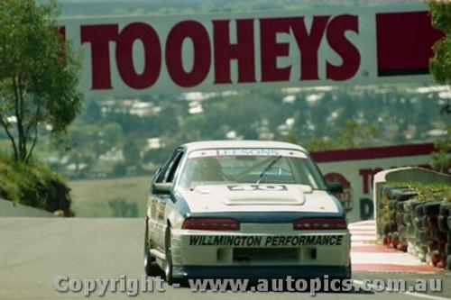 92742  - John Leeson / Rohan Cooke - Holden Commodore VL  -  Bathurst 1992 - Photographer Lance J Ruting