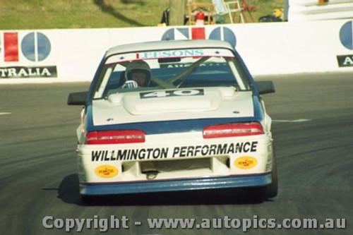 92743  - John Leeson / Rohan Cooke - Holden Commodore VL  -  Bathurst 1992 - Photographer Lance J Ruting
