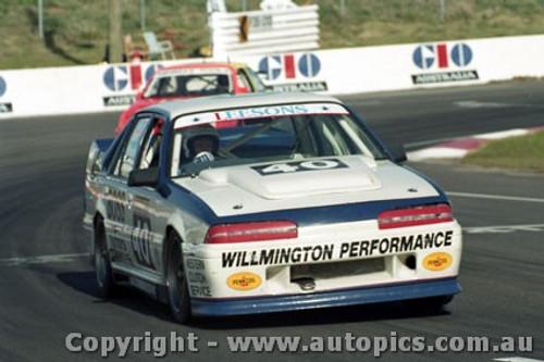92744  - John Leeson / Rohan Cooke - Holden Commodore VL  -  Bathurst 1992 - Photographer Lance J Ruting