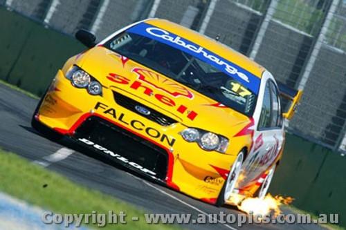 203039 - Steven Johnson - Ford Falcon BA -  Albert Park 2003 - Photographer Jeremy Braithwaite