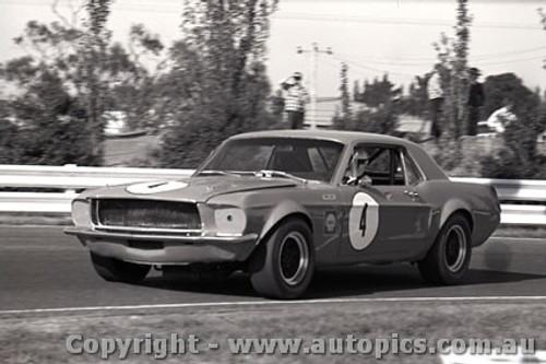 69129 - John Harvey - Ford Mustang -  Sandown  1969 - Photographer Peter D Abbs