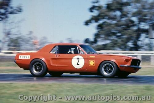 69131 - Bob Jane - Ford Mustang - Warwick Farm 1969 - Photographer Jeff Nield