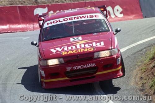94732  -  M. Skaife / J. Richards   - Holden Commodore VP - Bathurst 1994 - Photographer Ray Simpson