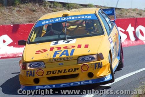 94734  -  D. Johnson / J. Bowe - Falcon EB -  1st Outrigh  Bathurst 1994 - Photographer Ray Simpson