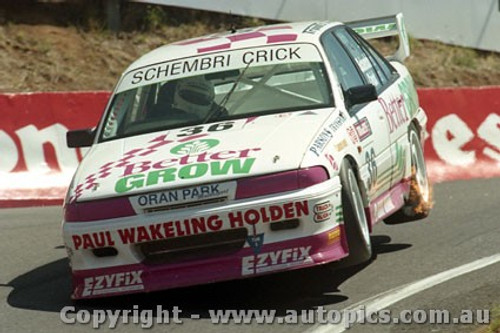 94737  -  N. Schembri / R. Crick - Holden Commodore VP - Bathurst 1994 - Photographer Ray Simpson
