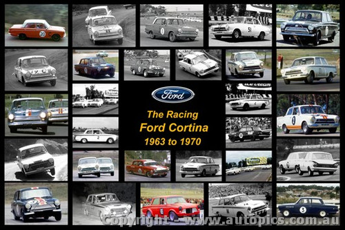 The Racing Ford Cortina - A collection of 28 photos of MK1 Cortina from 1963 to 1970