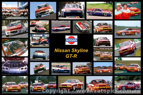 Nissan Skyline GT-R - A collection of 28 photos of Nissan Skyline GT-Rs from 1990 to 1992