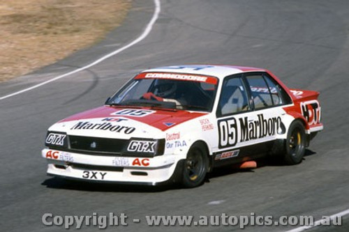 81054  - Peter Brock VH Commodore - Amaroo 1981 - Photographer Lance Ruting
