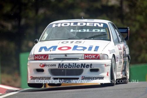 94740 - Brad Jones / Craig Lowndes, Commodore VP - Bathurst 1994 - Photographer Marshall Cass