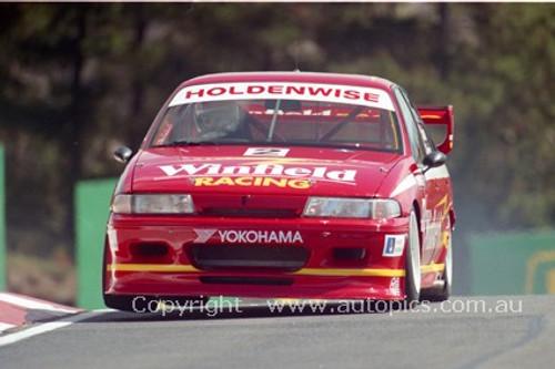 94742 - Mark Skaife / Jim Richards, Commodore VP - Bathurst 1994 - Photographer Marshall Cass
