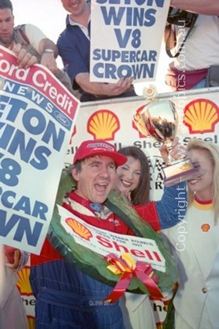 97008 - Glenn Seton, Falcon EL - Oran Park 1997 - Photographer Marshall Cass