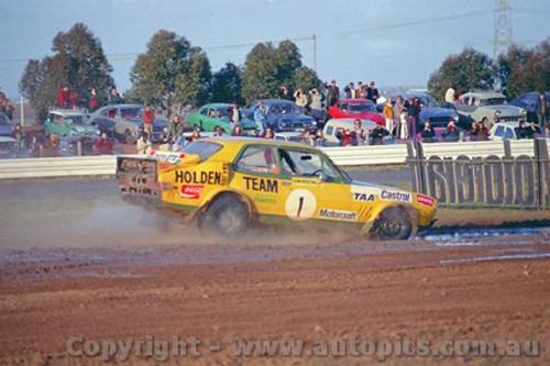 72987 - Peter Brock Holden Torana XU1 - Calder Rallycross 1972 - Photographer Peter D'Abbs