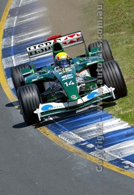 203502 - Mark Webber  Jaguar-Cosworth -  Australian Grand Prix  Albert Park 2003 - Photographer Marshall Cass